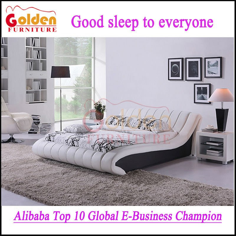 Best Quality Pakistan Bedroom Furniture New Bed Design Photo