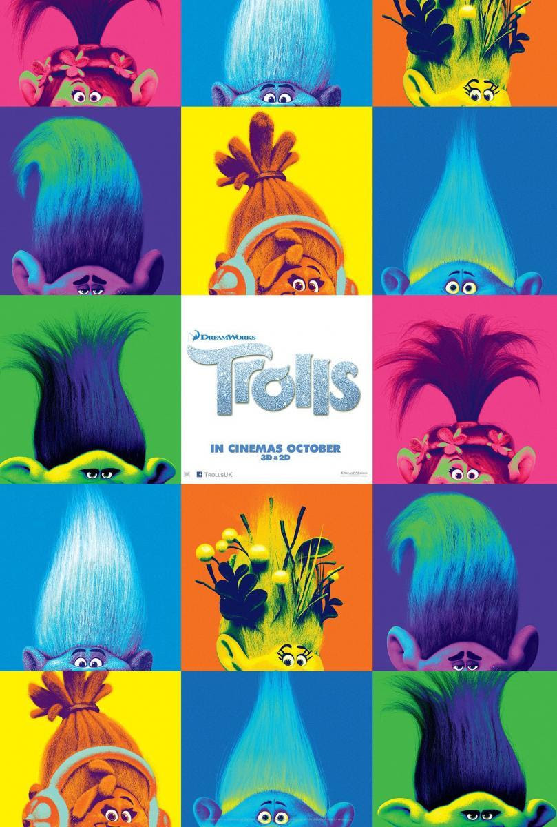 película, cine, animación, 3d, dibujos, infantil, fantástico, cartelera, trolls, blogger alicante, solo yo, blog solo yo,
