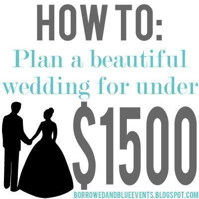 Best 25  Low Budget Wedding ideas on Pinterest   Cheap