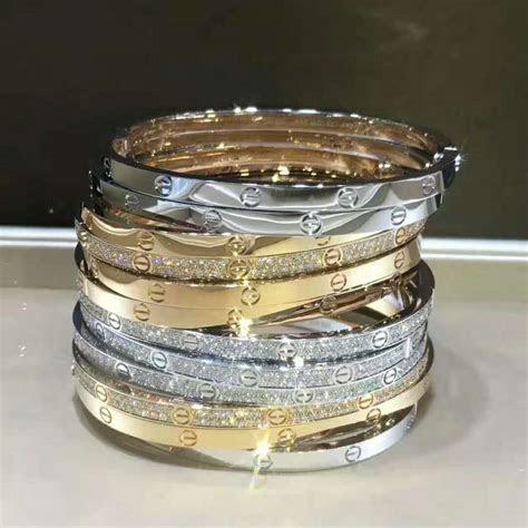 discount cartier love sm bracelet white gold