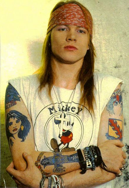Axl Rose Victory Or Death Tattoo And The Elvis Presley Connection