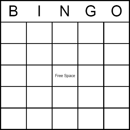 printable bingo card, put commercial things on it, pizza, chips ...