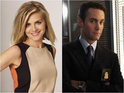 Eliza Coupe and Jay Harrington