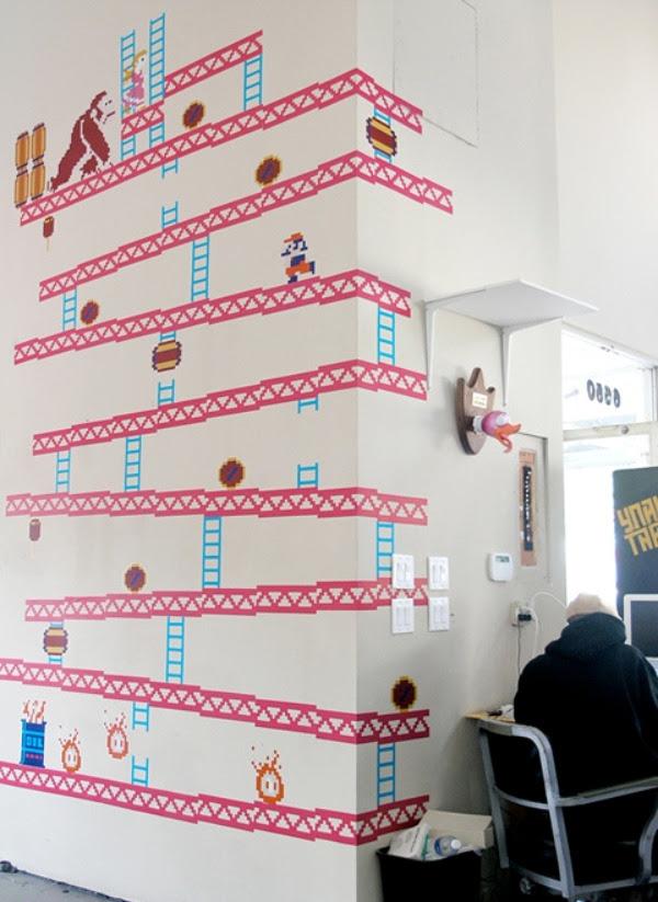 Donkey Kong Wall Decal