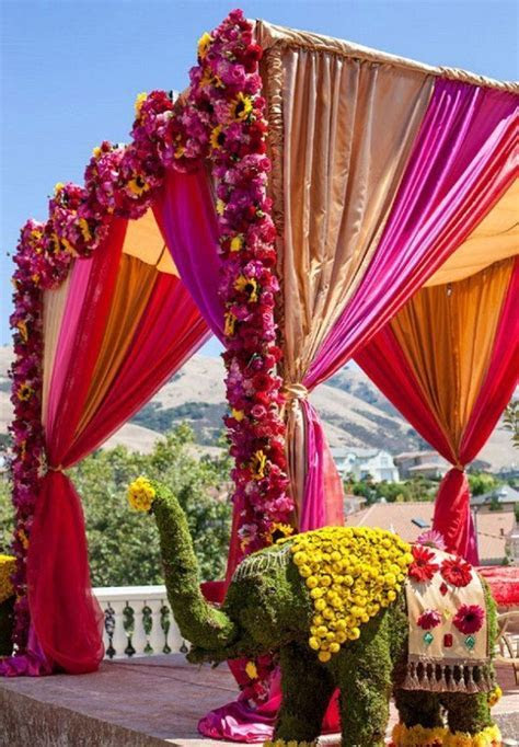 Indian Wedding Mandap Decorations   Mandaps   Indian