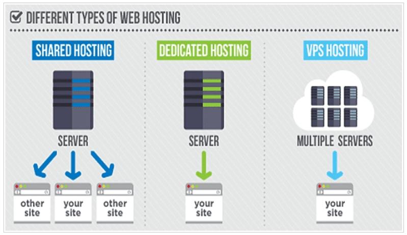 Types of Website Hosting