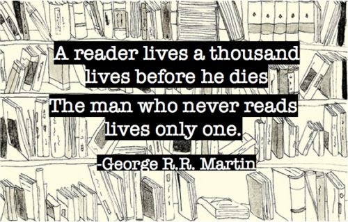 No Spoilers A Reader Lives Quote By George Rr Martin