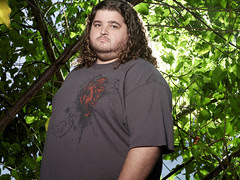 Jorge Garcia as 'Hurley' on LOST. (ABC/ART STREIBER)