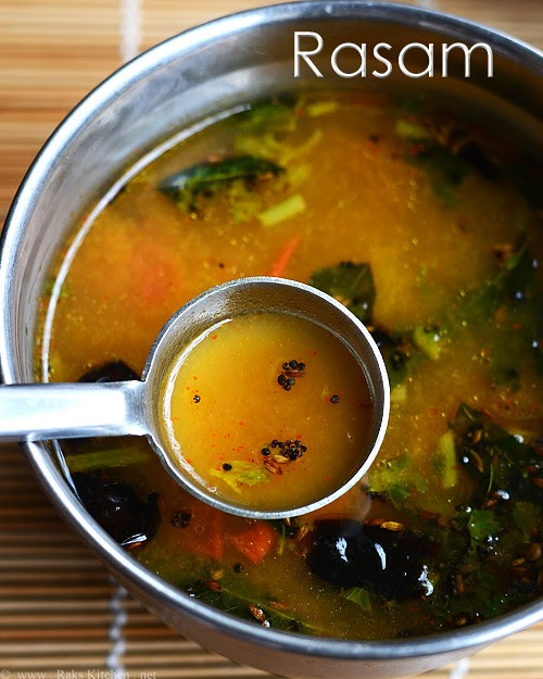 Rasam Recipe Raks Kitchen