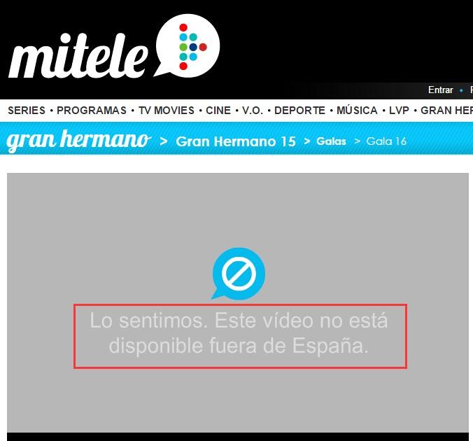 Todo sobre el mundo de los juegos online c mo ver canal for Ver mitele fuera de espana