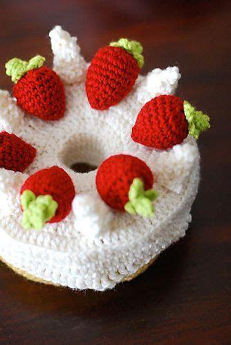 1000  ideas about Crochet Cake on Pinterest   Crochet Food