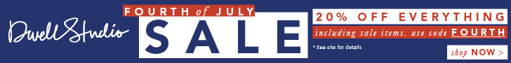 Fourth of July Sale: 20& off sitewide