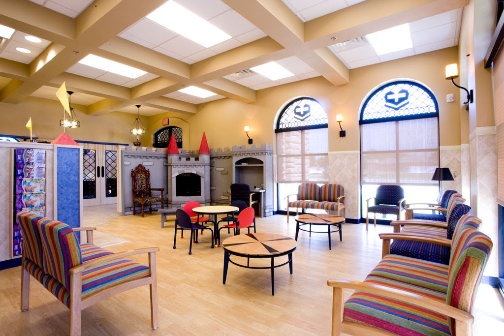 Sanford Children's Duncan Clinic Waiting Area