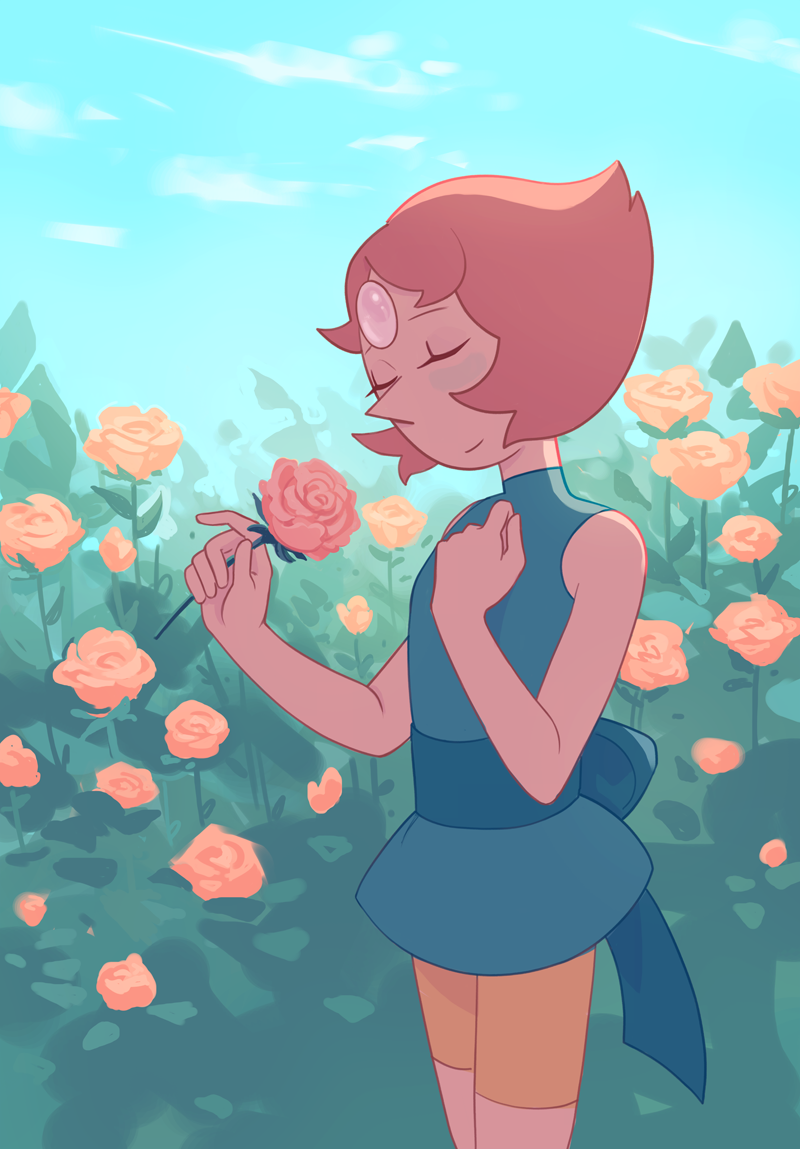 have a cliche pearl drawing