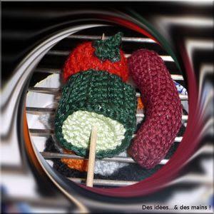 Barbecue crochet