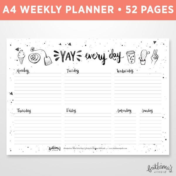 fathimas studio_2017 A4 weekly planner 01