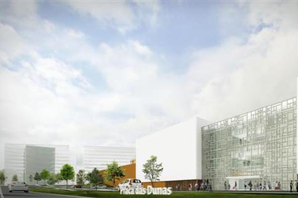 Fachada projetada para o Praça das Dunas Shopping Center: Empreendimento deverá receber R$ 300 milhões em investimentos