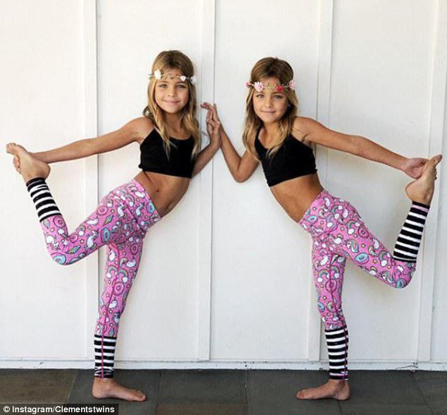 Οι Clemenz Twins Leah Rose και Ava Marie, επτά, έχουν δημιουργήσει μια ακολουθία των 139.000 στην Instagram λίγους μήνες μόλις η μητέρα τους Jaqi άρχισε να μοιράζεται τις φωτογραφίες τους στο Instagram