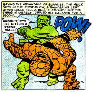 Thing versus Hulk