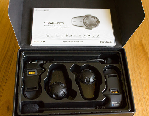 Sena SMH10 Motorcycle Bluetooth Headset Unboxing