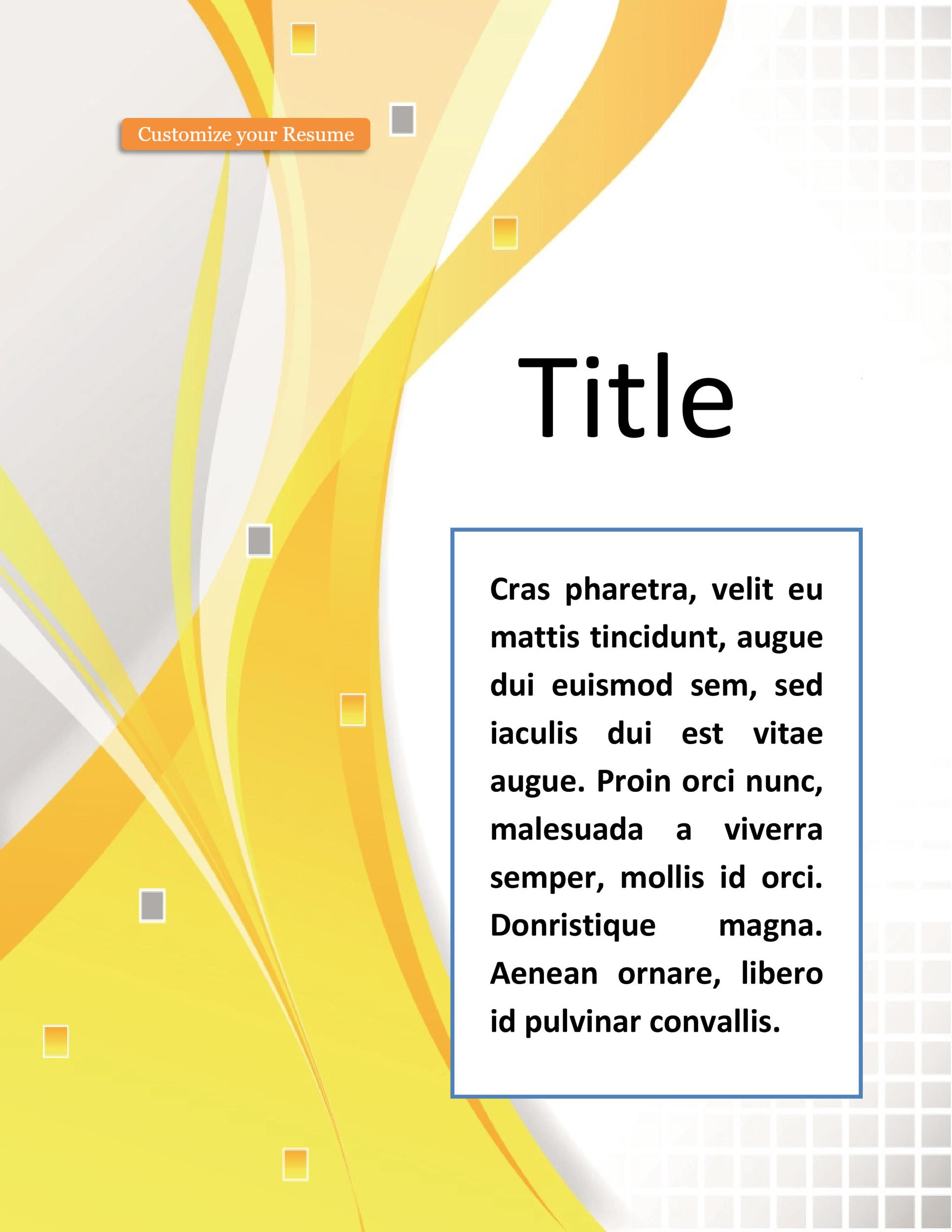 Microsoft Word Ms Word Cover Page Designs Free Download In Word Title Page Templates