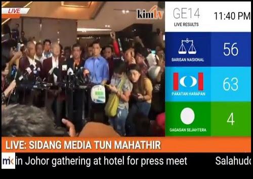 Kekalahan BN di Malaysia merebak ke PAP Singapura?