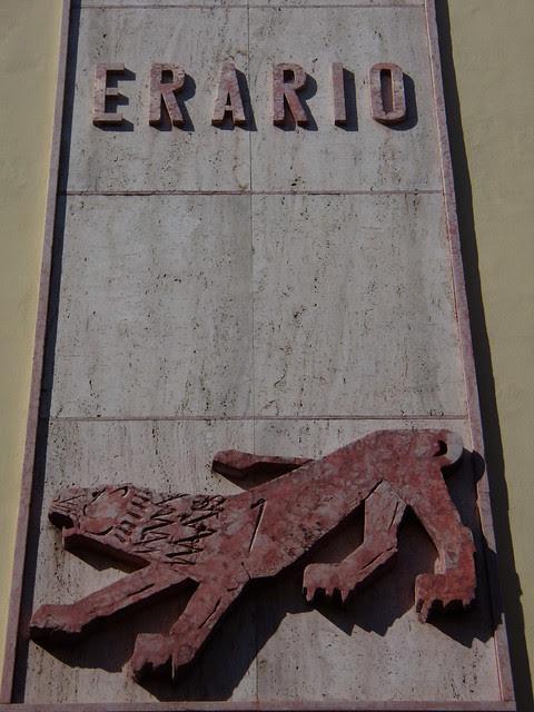 Virgilio Milani - Leone Palazzo Erario