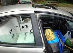 Packed car RAPTOR