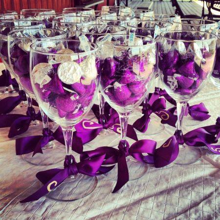 Hershey Kiss Wedding Favors