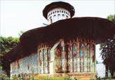 Μοναστήρι Χουμόρ στη Μολδαβία.Από το λεύκωμα της Δήμητρας Στασινοπούλου «Η Ρουμανία της καρδιάς μου»