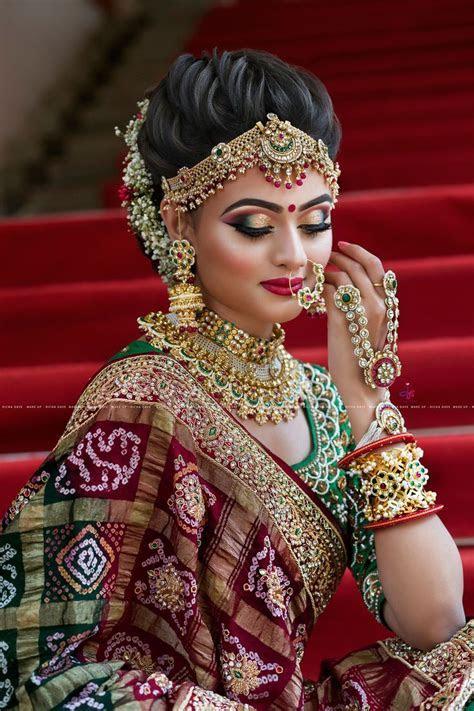 Gujarati Bridal Look   Indian bridal jewelry in 2019