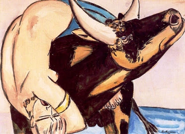 """Μαξ Μπέκμαν, """"Η αρπαγή της Ευρώπης"""", 1932"""