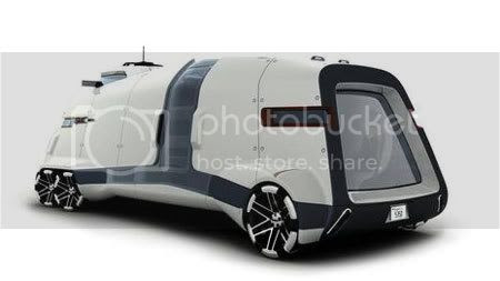 weird car design GMC PAD