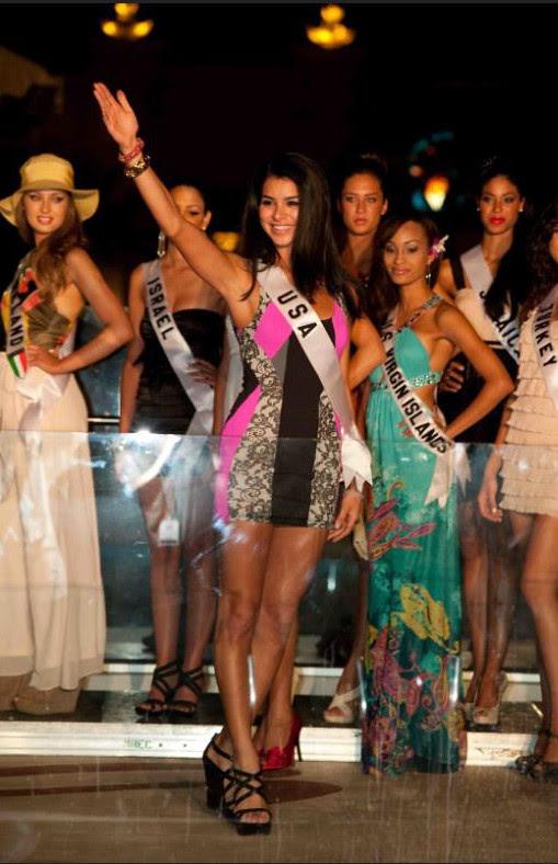 Rima Fakih opening Miss Universe