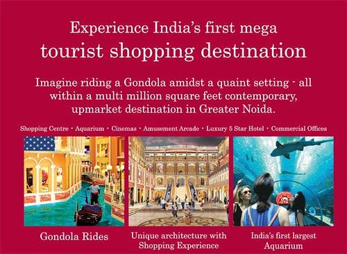 Grand Venezia (Venice) in Greater Noida - India's first mega Venice Themed tourist destination. by jungle_concrete