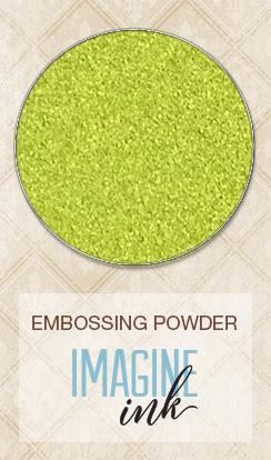 Embossing Powder - Lime