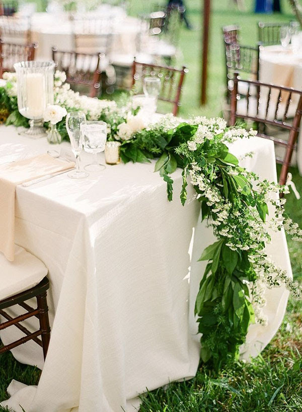 runner foliage matrimonio botanico