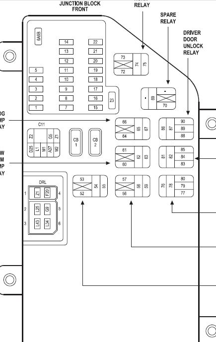 2008 chrysler 300 fuse box 30 2008 chrysler 300 fuse box diagram wiring diagram list  30 2008 chrysler 300 fuse box diagram