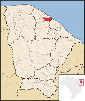 Localização de São Gonçalo do Amarante