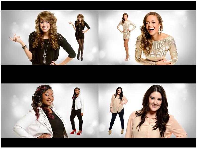 My American Idol Top 4 Girls