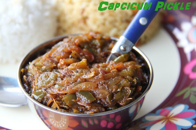 Capcicum pickle resize 001