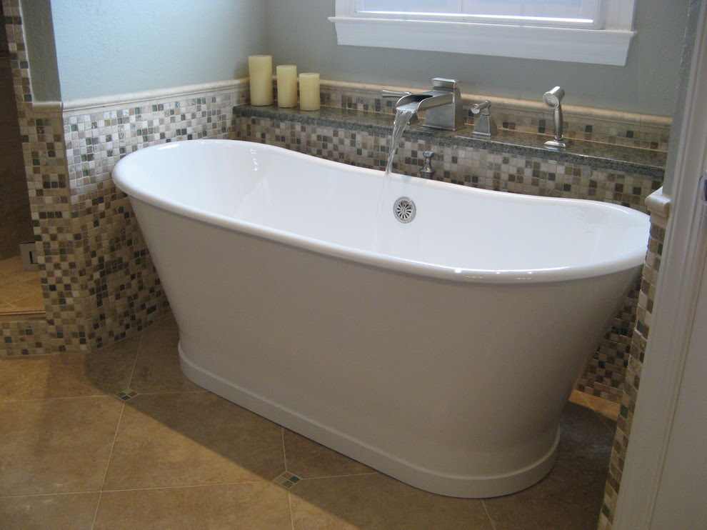 Splashy stand alone tubs in Bathroom Traditional with ...