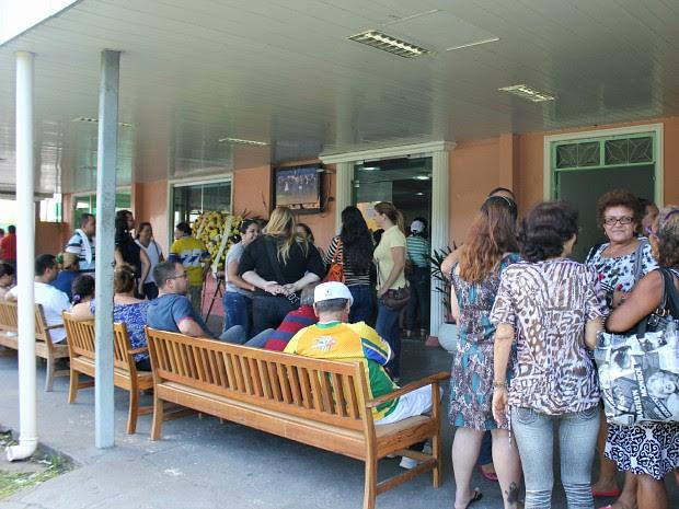 Velório aconteceu na manhã deste sábado, em Manaus (Foto: Tiago Melo/G1 AM)