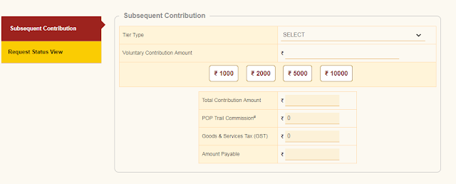 eNPS website allows subscribers to make contribution online; How to do it