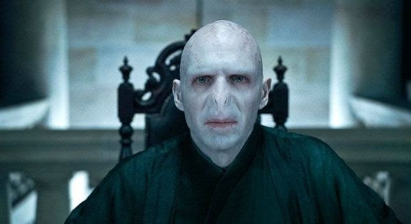 Lord Voldemort plots out his plan to kill Harry Potter in Part 1 of HARRY POTTER AND THE DEATHLY HALLOWS.