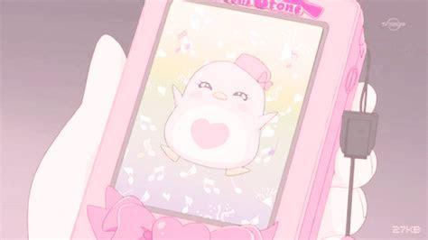 kawaii pink gif gif en  pastel pink wallpaper