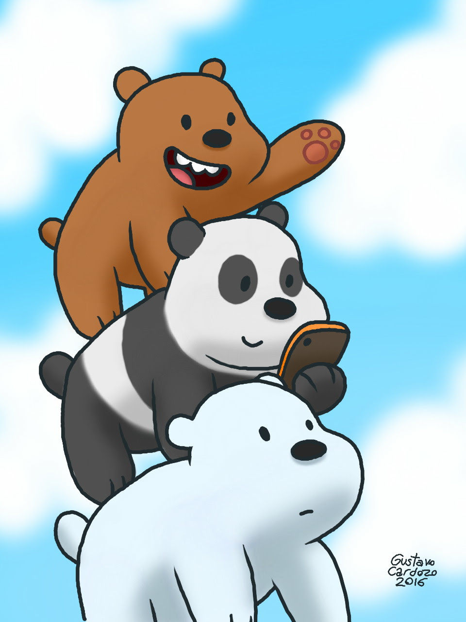 We Bare Bears by GustavoCardozo97 on DeviantArt
