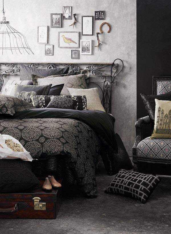 Contemporary Bed linen collection from Aura