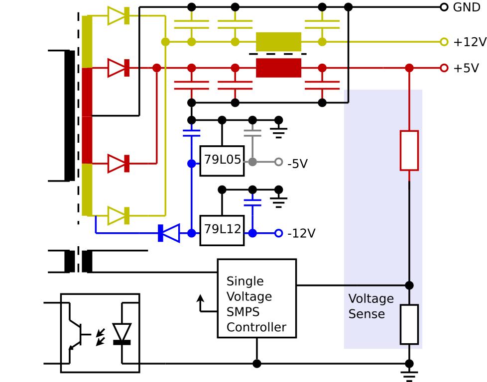 Pc Power Cord Wiring Diagram