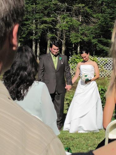 beige & mike get married